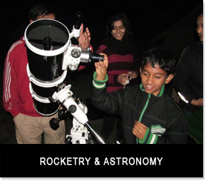 Rocketry and Astronomy